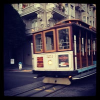 Photo taken at Hyde Street Cable Car by Lisa on 10/26/2012