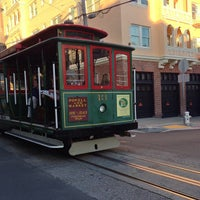 Photo taken at Hyde Street Cable Car by Lisa on 2/15/2013