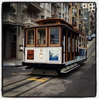 Photo taken at Hyde Street Cable Car by Lisa on 7/17/2013