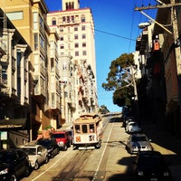 Photo taken at Hyde Street Cable Car by Lisa on 6/20/2013