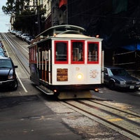 Photo taken at Hyde Street Cable Car by Lisa on 11/29/2012