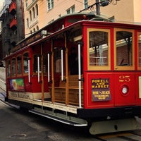 Photo taken at Hyde Street Cable Car by Lisa on 7/3/2013