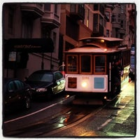 Photo taken at Hyde Street Cable Car by Lisa on 10/31/2012