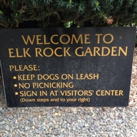 photo taken at elk rock garden by john l on 5122013 - Elk Rock Garden
