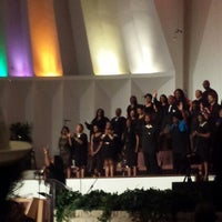 Photo taken at Christian Chapel Temple Of Faith by Roberta G. on 6/1/2014