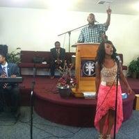 Photo taken at God's Glory Apostolic Church by Crystal N. on 6/10/2013