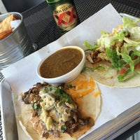 Photo taken at Capital Tacos by Thomas D. on 3/19/2014