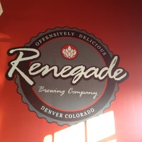 Photo taken at Renegade Brewing Co. by Gautam C. on 10/26/2012