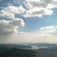 Photo taken at 천주산 정상 by Tae hyung K. on 10/1/2012