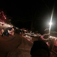 Photo taken at Tiny World Christmas Village by Jonathan F. on 12/30/2012