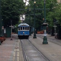 Photo taken at Court Trolley Station by lil BIG G. on 5/17/2014