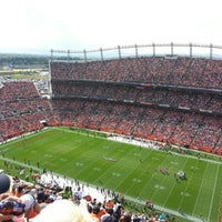Photo taken at Sports Authority Field at Mile High by Kyle on 9/30/2012