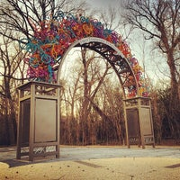 Photo taken at Overton Park by Jonathan F. on 3/30/2014