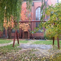 Photo taken at Samariterkirche by Da N. on 10/17/2013