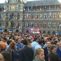 Photo taken at Aper'eau grote Markt by Dries C. on 5/30/2014