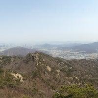 Photo taken at 관악산 연주대 by Jongwoo S. on 4/13/2013