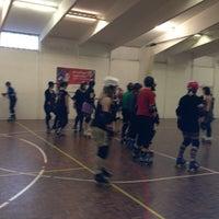 Photo taken at Dracaena Skate Park by Thrashion L. on 4/13/2013
