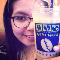 Photo taken at Coffee World by Mily H. on 9/25/2013
