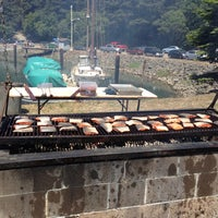 Photo taken at World's Largest Salmon BBQ by Nygil S. on 7/6/2013