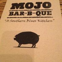 Photo taken at MOJO Bar B Que, A Southern Blues Kitchen by Kyle J. on 1/29/2013