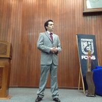 Photo taken at Facultad de Derecho by Lizbeth P. on 11/13/2012