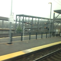 Photo taken at MBTA Canton Junction Station by Joe G. on 12/2/2013