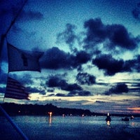 Photo taken at Shelter Cove Harbour by Samantha Y. on 7/18/2013