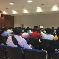 Photo taken at Auditorio Colegio de Policia y Transito by María Rebecca M. on 10/24/2016