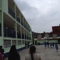 Photo taken at Escuela Jose Maria Morelos by Johnnyc E. on 7/5/2013