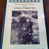 Artists Colony Inn Restaurant Menu