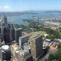 Photo taken at Sydney Tower Eye by Rikka S. on 11/25/2012
