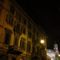 Photo taken at Largo Saluzzo by Marcelo B. on 5/31/2014