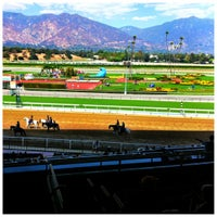Photo taken at Santa Anita Park by S L L. on 10/1/2012