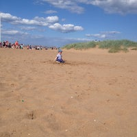 Photo taken at Skegness Beach by Adam L. on 8/18/2013