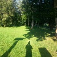 Photo taken at Kurpark Thumersbach by Turki A. on 8/22/2013