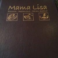 Photo taken at Mama Lisa Restaurant by Stefanie W. on 6/2/2013