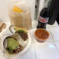 Photo taken at Los Tacos No. 1 by Steve S. on 12/7/2017