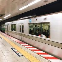 Photo taken at Hibiya Line Hatchobori Station (H11) by ペロリスト in 銀座 on 9/30/2017