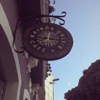 Das Foto wurde bei Café Kairós von Nayane Nathalie am 11/14/2013 aufgenommen