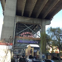 Photo taken at Granville Island by Diego G. on 4/1/2013