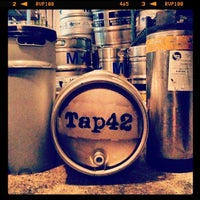 Photo taken at Tap 42 Bar & Kitchen by Dyannah C. on 1/26/2013