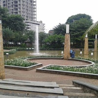Photo taken at Taman Ayodya by Denmas H. on 1/18/2014