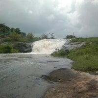 Photo taken at Aikkera waterfalls by John A. on 10/18/2012