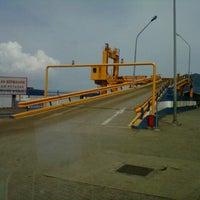 Photo taken at Pelabuhan Merak by ockie l. on 2/5/2013