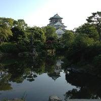 Photo taken at 大阪城日本庭園 by 浩子 池. on 8/13/2013