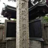 Photo taken at 鉄砲洲稲荷神社 by 浩子 池. on 7/25/2013