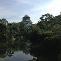 Photo taken at 大阪城日本庭園 by 浩子 池. on 7/20/2013