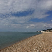 Photo taken at Folkestone Seafront by Dmytro G. on 7/31/2016