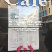Photo taken at Cafe Wiedamann by Maria Rocio on 12/31/2017