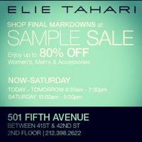 Photo taken at Elie Tahari Company Store by Elie T. on 10/18/2012